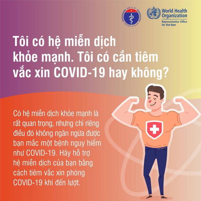 Infographic: Những sự thật cần biết về vaccine COVID-19