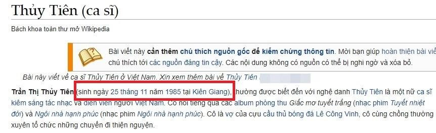 Thủy Tiên công bố 18 nghìn trang sao kê từ thiện, netizen liền phát hiện thông tin năm sinh nữ ca sĩ có gì sai sai?