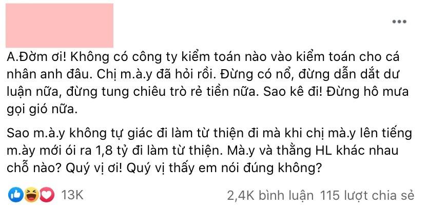 Lộ bản hợp đồng của Đàm Vĩnh Hưng với công ty kiểm toán sau khi bà Phương Hằng tuyên bố đừng có nổ?
