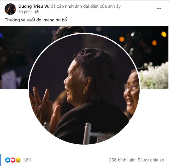 Bố NS Hoài Linh, Dương Triệu Vũ từ trần, sao Việt nói lời ruột gan chia buồn