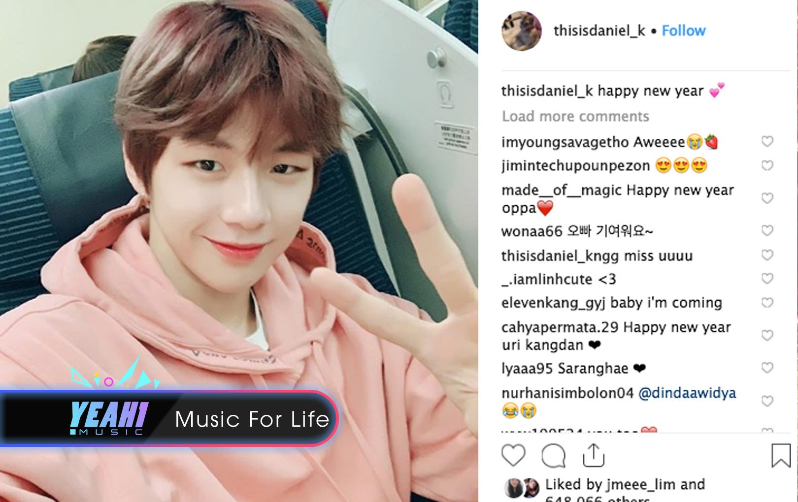 """""""Center quốc dân"""" Kang Daniel bất ngờ mở tài khoản Instagram, dân tình kéo nhau xác lập kỷ lục Guinness thế giới"""