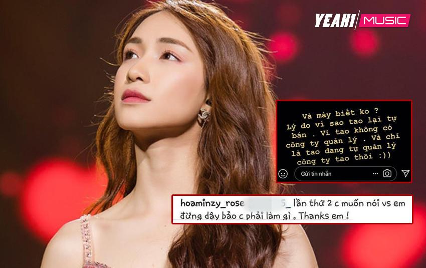 Điểm danh lại những màn phát ngôn làm nên thương hiệu của Hòa Minzy, một lần làm lớn cho anti fan phải trầm trồ!