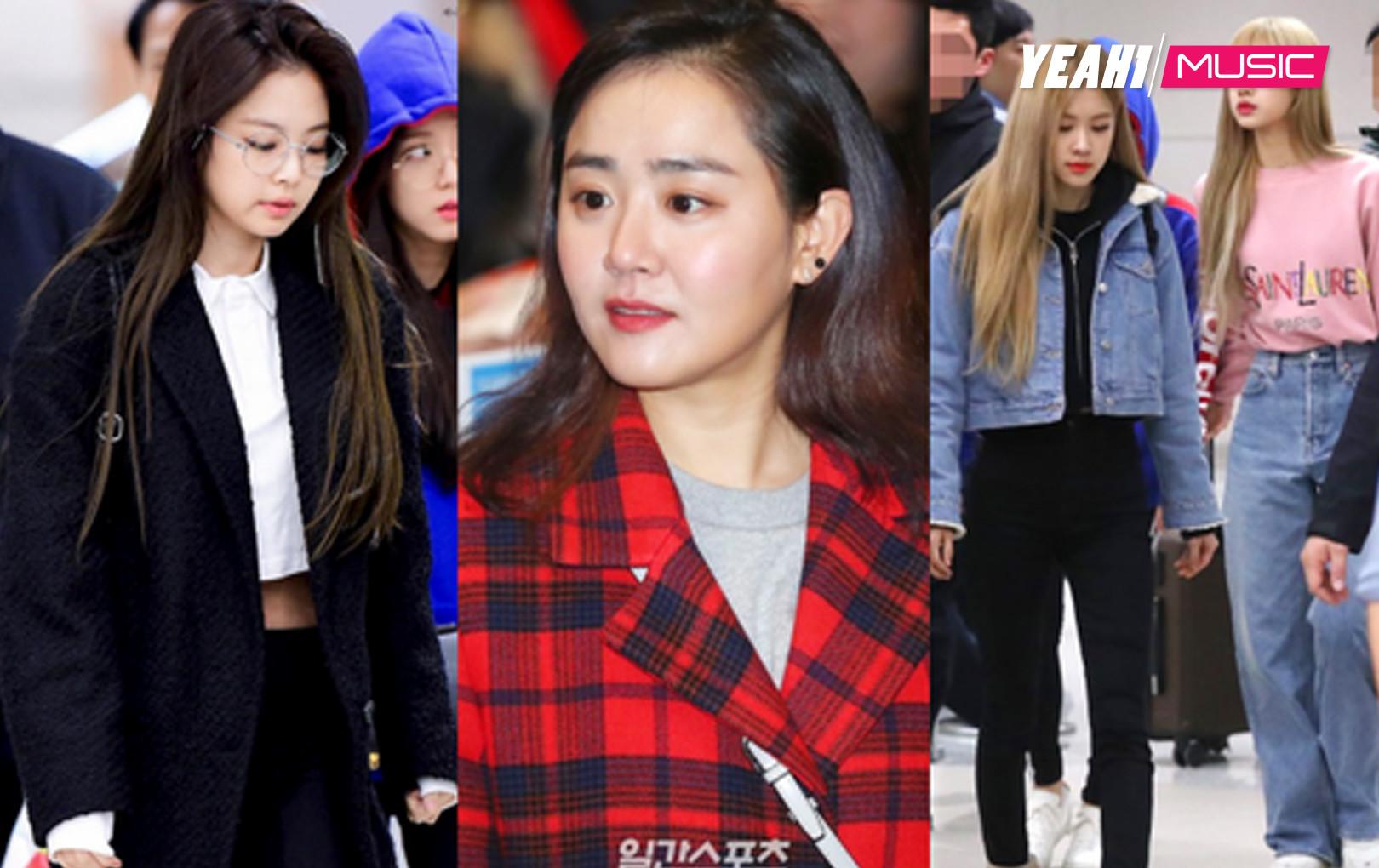 Dàn mỹ nhân Hàn đổ bộ sân bay: Moon Geun Young lột xác sau khi bị chê già nua, Black Pink đổi style dễ thương
