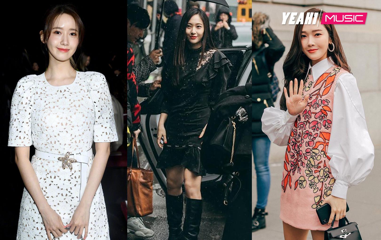 Dự NYFW: Yoona, Krystal sang chảnh thu hút truyền thông, nhưng Jessica mới là người gây chú ý vì điểm này